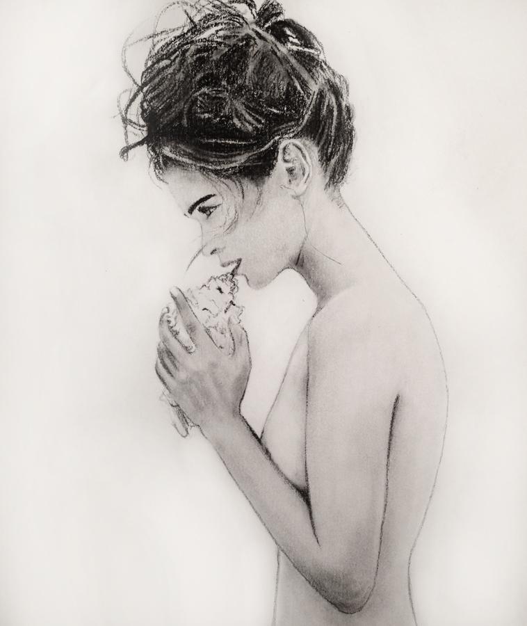 montana engels artist shell drawing
