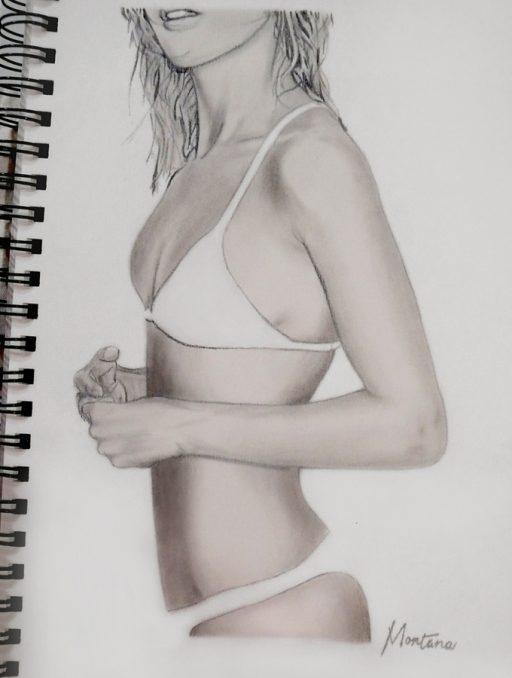 Montana Engels artist drawing nokini