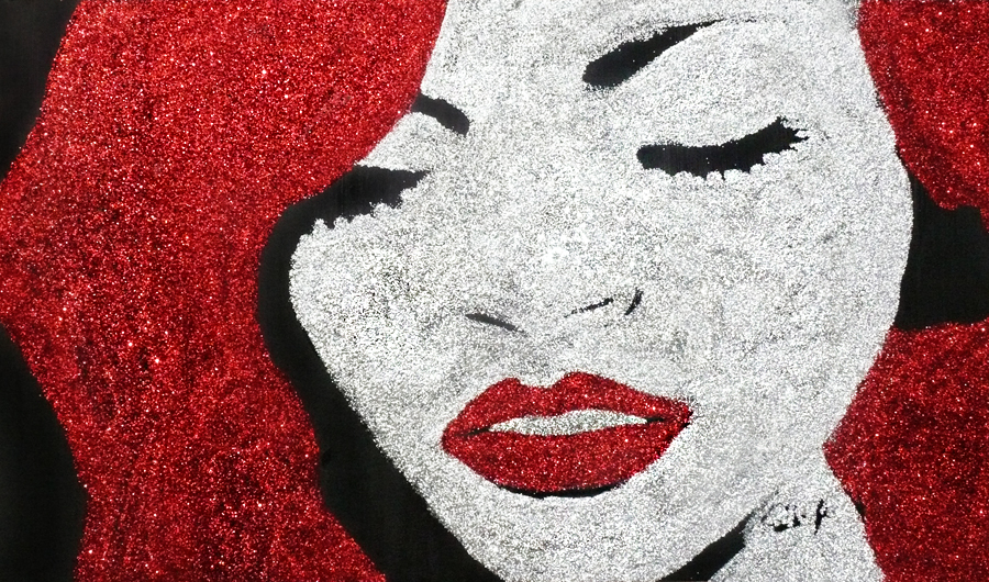 Rebelle rouge rihanna Montana Engels Speedpainting artist Belgium's got talent