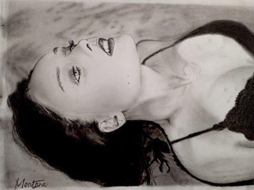 Montana Engels artist drawing Ophelia