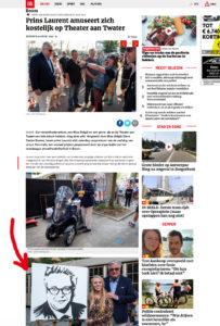 gazet-van-antwerpen-Montana-Engels-speedpainting-prins-van-Belgie-prins-laurent-live-schilderij-TAW