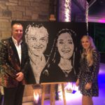 Montana-Engels-got-talent-speed-painting-event-performance-Bristol-United-kingdom